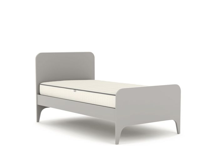 Oskar Grey King Single Bed | Now On Sale | Bedtime.