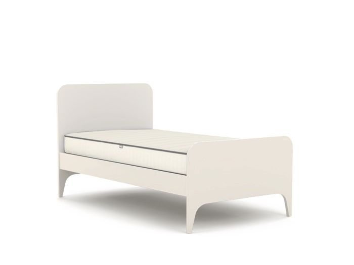 Oskar White Single Bed | Now On Sale | Bedtime.