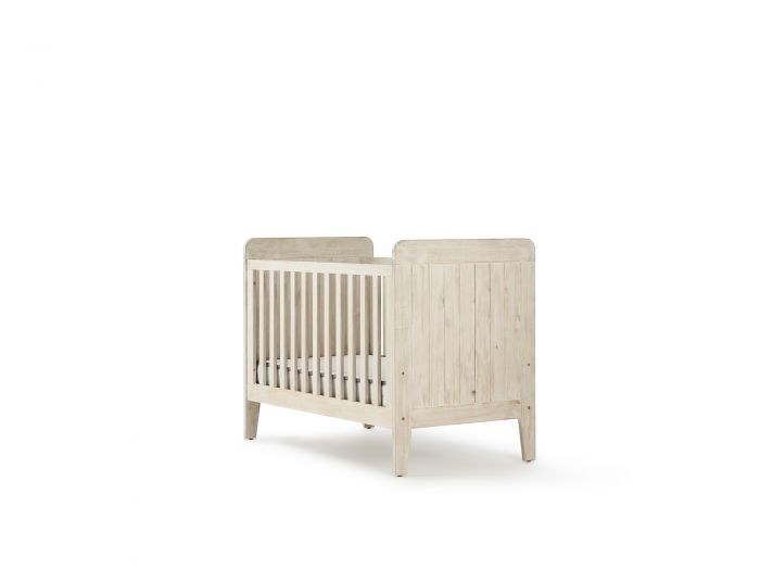 Woody Whitewash Cot | Now On Sale | Bedtime.